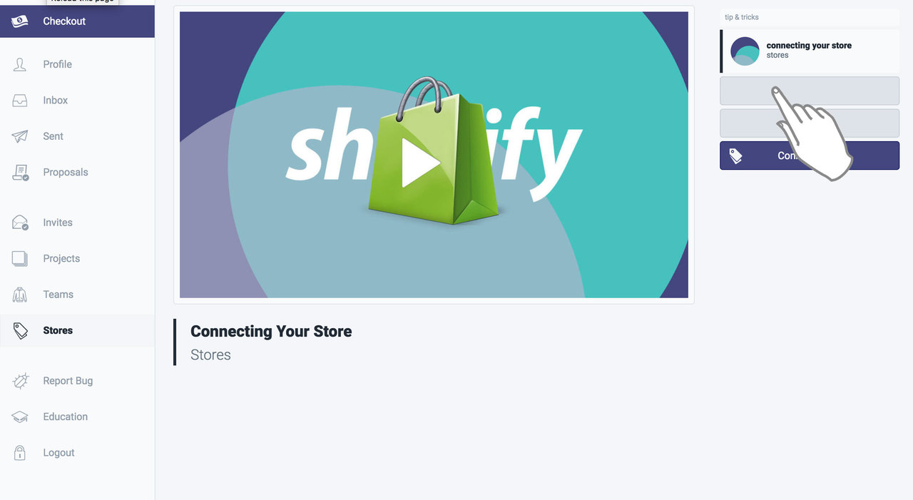 Connecting Your Shopify Store | Boovi